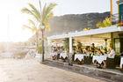 Ät tapas och glassa på stranden i Malaga