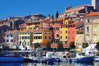 Livsnjutarresa, kullinarisk halvö i Kroatien